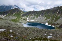Lago Zadni Staw Polski. Fotos de archivo