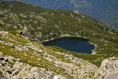 Lago Zanoaga Fotografia Stock Libera da Diritti