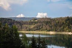 Lago Zaovine Fotografía de archivo