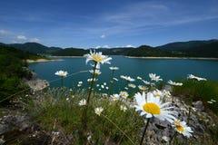 Lago Zaovine Fotografía de archivo libre de regalías
