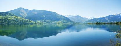 Lago Zell, zee di dello zell, Austria Fotografia Stock Libera da Diritti