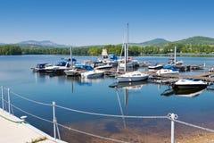 Lago Zernosecke vicino a Litomerice, regione di Porta Bohemica, repubblica Ceca Fotografie Stock