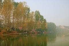 Lago Zhengzhou Donglin Imagem de Stock