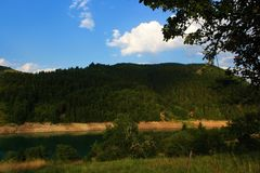 Lago Zlatar Imagen de archivo
