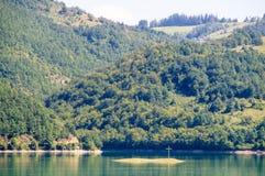 Lago zlatar dell'isola trasversale, Serbia Fotografia Stock Libera da Diritti