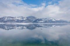 Lago Zlatar en Zlatibor Serbia Fotos de archivo libres de regalías