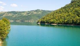 Lago Zlatar in Serbia Fotografia Stock Libera da Diritti