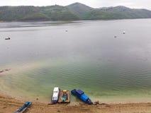 Lago Zlatar, Serbia fotografie stock libere da diritti