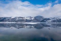Lago Zlatar a Zlatibor Serbia Immagine Stock Libera da Diritti