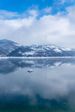 Lago Zlatar a Zlatibor Serbia Fotografia Stock