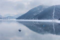 Lago Zlatar a Zlatibor Serbia Immagini Stock