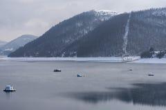 Lago Zlatar a Zlatibor Serbia Fotografie Stock Libere da Diritti