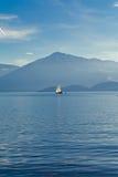 Lago Zug en Suiza Foto de archivo libre de regalías