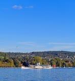 Lago Zurich Fotos de archivo