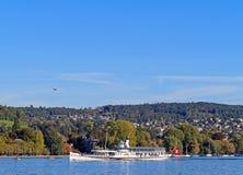Lago Zurich Foto de archivo libre de regalías