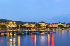 Lago Zurich Fotografía de archivo