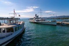 Lago Zurich Imagen de archivo libre de regalías
