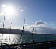 Lago Zurigo Kuesnacht fotografia stock