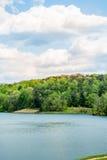 Lago Zwerner en la primavera Imagen de archivo libre de regalías