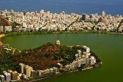lagoa Ρίο Rodrigo ipanema freitas de district στοκ εικόνα με δικαίωμα ελεύθερης χρήσης