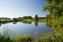 A lagoa Imagens de Stock