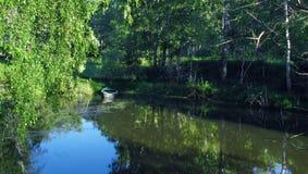 A lagoa foto de stock