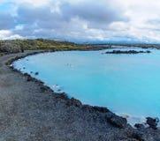 A lagoa azul imagens de stock royalty free