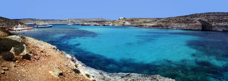 A lagoa azul fotografia de stock