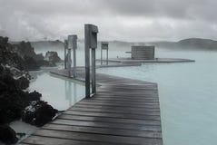 Lagoa azul Imagem de Stock Royalty Free