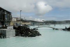 Lagoa azul Imagens de Stock
