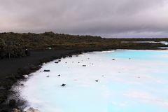 Lagoa azul Fotos de Stock