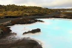 Lagoa azul Foto de Stock
