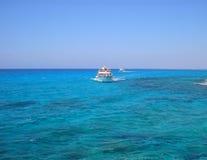 Lagoa azul Imagens de Stock Royalty Free
