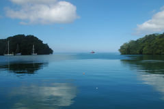 Lagoa azul Fiji Foto de Stock Royalty Free
