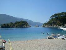 Lagoa azul Oludeniz Fotografia de Stock