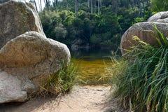 Lagoa Azul - Sintra, Πορτογαλία Στοκ φωτογραφία με δικαίωμα ελεύθερης χρήσης