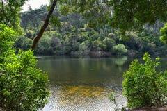 Lagoa Azul - Sintra, Πορτογαλία Στοκ φωτογραφίες με δικαίωμα ελεύθερης χρήσης