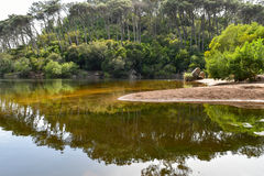 Lagoa Azul - Sintra, Portugal Image stock
