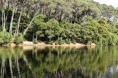 Lagoa Azul - Sintra, Portugal Photographie stock