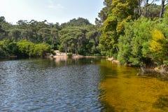Lagoa Azul - Sintra, Portugal Photographie stock libre de droits