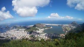 Lagoa bergiga landforms, himmel, bergskedja, berg arkivbild