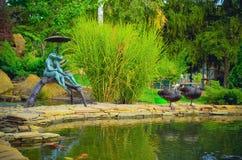 A lagoa bonita Fotografia de Stock