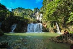 Lagoa da cachoeira de Lor SU do T Foto de Stock Royalty Free