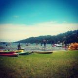 Lagoa da Conceição Royaltyfria Foton