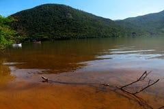 Lagoa da Conceição em Florianà ³ polisa Santa Catarina, Brasil - Fotografia Royalty Free