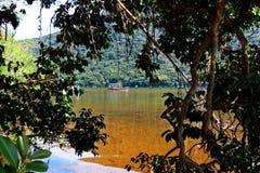 Lagoa da Conceição em Florianà ³ polisa Santa Catarina, Brasil - Obrazy Stock