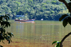 Lagoa da Conceição em Florianà ³ polisa Santa Catarina, Brasil - Obrazy Royalty Free