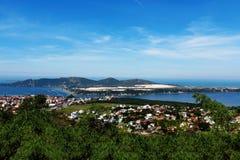 Lagoa da Conceição em Florianà ³ polisa Santa Catarina, Brasil - Fotografia Stock
