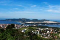 Lagoa DA Conceição polis ³ EM Florianà - Santa Catarina - Brasilien stockbilder