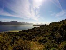Lagoa da Conceição w Florianà ³ polisa Santa Catarina, Brazylia - Fotografia Royalty Free
